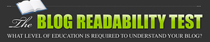The blog readability test