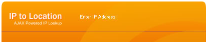 Find out where an IP address is geographically located
