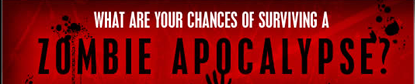 What are your chances of surviving a zombie apocalypse?