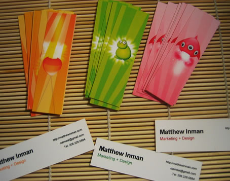 How to make awesome business cards at home matthew inman 0at business cards w back shown colourmoves