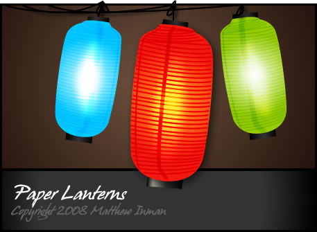 Paper Lanterns from Japan