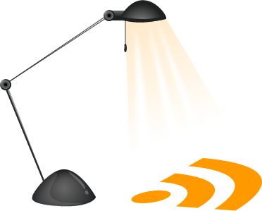 Lamp RSS Icon